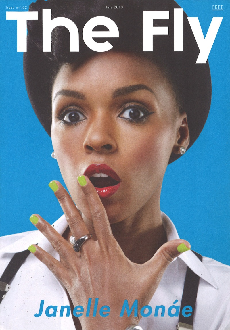 Janelle Monáe interview - The Fly (cover)
